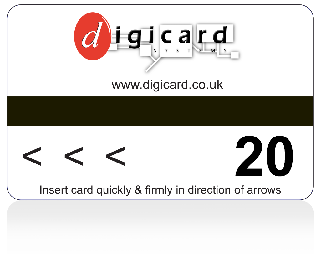 Pre payment card 20 token