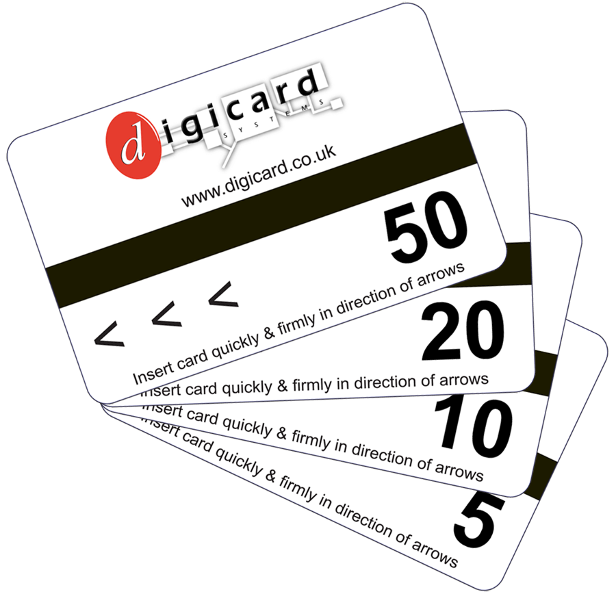 Pre payment cards